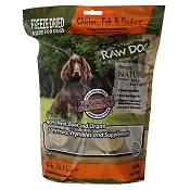 OC Raw Freeze-Dried Chicken, Fish & Produce Sliders Dog Food, 14-oz Bag