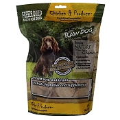 OC Raw Freeze-Dried Chicken & Produce Sliders Dog Food, 14-oz Bag
