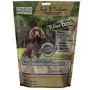 OC Raw Freeze-Dried Goat & Produce Sliders Dog Food, 14-oz Bag