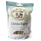 OlviPet DentaBars Olive Oil Dental Dog Treats, Medium