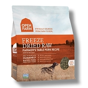 Open Farm Farmer's Table Pork Recipe Freeze Dried Raw Dog Food, 13.5-oz Bag
