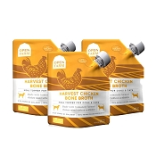 Open Farm Harvest Chicken Bone Broth Bundle For Dogs, 12-oz, Pack of 3