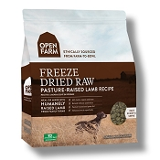 Open Farm Pasture-Raised Lamb Recipe Freeze Dried Raw Dog Food, 13.5-oz Bag