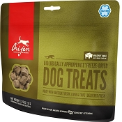 Orijen Free-Range Kentucky Bison Freeze-Dried Dog Treats, 3.25-oz Bag