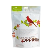 Pacific Bird & Supply Mealworm + Cherry Topping for Wild Birds, 4.58-oz