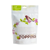 Pacific Bird & Supply Mealworm + Cranberry Apple Topping for Wild Birds, 4.41-oz