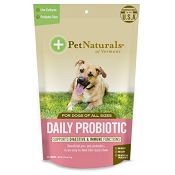 Pet Naturals of Vermont Daily Probiotic Dog Chews, 60 Count