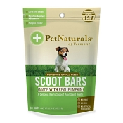 Pet Naturals of Vermont Dog Scoot Bars Dog Chews, 30 count