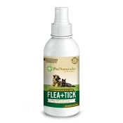 Pet Naturals of Vermont Flea + Tick Dog and Cat Repellent Spray