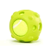 PetProjekt Tennis Hydrobal Dog Toy, Green
