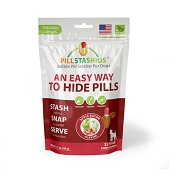 PillStashios Apple Bacon Edible Pill Stashers for Dogs, Small