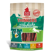 Plato Thinkers Duck Meat Stick Dog Treats, 10-oz Bag