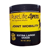 PureLife 4 Pets Joint Mobility Soft Chews Dog Supplement, Extra Large