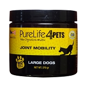 PureLife 4 Pets Joint Mobility Soft Chews Dog Supplement for Large Dogs, 90 Count