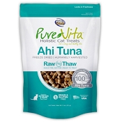 PureVita Ahi Tuna Freeze Dried Cat Treats, 1.1-oz Bag