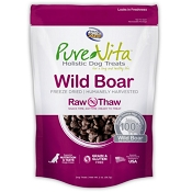 PureVita Wild Boar Freeze Dried Dog Treats, 2-oz Bag