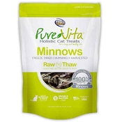 PureVita Minnows Freeze Dried Cat Treats, 0.5-oz Bag
