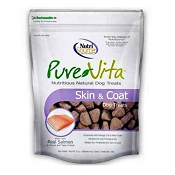 PureVita Skin & Coat Dog Treats, 6-oz Bag