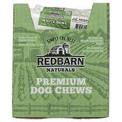 Redbarn Large White Bones Dog Treats, Case of 25