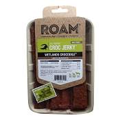 ROAM Pet Treats Croc Jerky Grasslands Crocodile Dog Treats, 5-oz