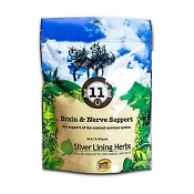 Silver Lining Herbs 11 Brain & Nerve Support Equine Supplement, 1-lb