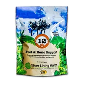 Silver Lining Herbs #12 Feet & Bone Support Equine Supplement, 1-lb