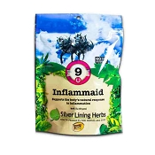 Silver Lining Herbs #9 Inflammaid Supplement for Horses, 1-lb