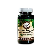 Silver Lining Herbs Canine #27 Liver Supplement for Dogs, 90 Capsules