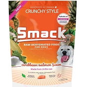 Smack Caribbean-Salmon Fusion Dehydrated Dog Food, 5.5-lb Bag