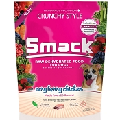 Smack Very Berry Chicken Dehydrated Dog Food, 5.5-lb Bag