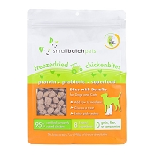 Small Batch Freeze-Dried Chicken Bites Dog Treats, 7-oz Bag
