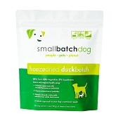 Small Batch Freeze-Dried Duck Recipe Sliders Dog Food, 14-oz Bag