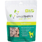 Small Batch Freeze-Dried Lamb Hearts Dog Treats, 3.5-oz Bag