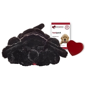 Smart Pet Love Black Lab Snuggle Puppy Behavioral Aid Toy