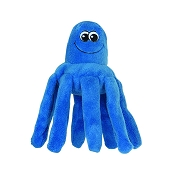 Smart Pet Love Tender-Tuff Blue Octopus Dog Toy