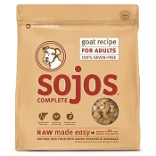 Sojos Complete Goat Recipe Adult Grain-Free Freeze-Dried Raw Dog Food, 7-lb Bag