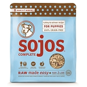 Sojos Complete Turkey & Salmon Puppy Recipe Grain-Free Freeze-Dried Raw Dog Food, 1-lb Bag