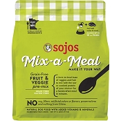 Sojos Mix-A-Meal Fruit & Veggie Pre-Mix Grain-Free Dog Food, 2-lb Bag