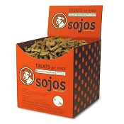 Sojos Pepperoni Pizza Flavor Wheat-Free Dog Treats, Bulk 20-lb Box