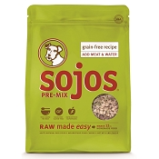 Sojos Pre-Mix Grain-Free Recipe Freeze-Dried Dog Food Mix, 2-lb-Bag