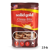Solid Gold Cinna-Bits Holistic Biscuits Dog Treats, 2.5-lb