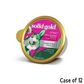 Solid Gold Lil' Boss Turkey & Hearty Vegetable Recipe in Gravy Grain-Free Small Breed Dog Food Cups, 3.5-oz cup, case of 12