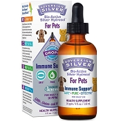 Sovereign Silver Immune Support for Pets Dropper, 4-oz Bottle