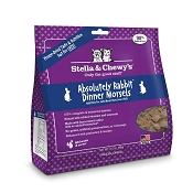 Stella & Chewy's Absolutely Rabbit Dinner Morsels Freeze-Dried Cat Food, 3.5-oz Bag