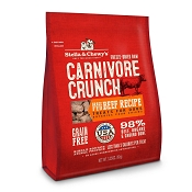 Stella & Chewy's Carnivore Crunch Grass-Fed Beef Recipe Freeze-Dried Raw Dog Treats, 3.25-oz bag