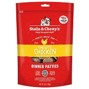 Stella & Chewy's Chewy's Chicken Dinner Patties Freeze-Dried Raw Dog Food, 25-oz Bag