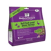 Stella & Chewy's Duck Duck Goose Dinner Morsels Freeze-Dried Raw Cat Food, 9-oz Bag