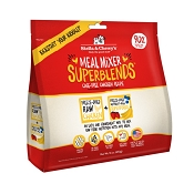 Stella & Chewy's SuperBlends Cage-Free Chicken Recipe Meal Mixers Grain-Free Freeze-Dried Dog Food, 16-oz Bag