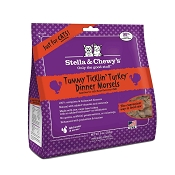 Stella & Chewy's Tummy Ticklin' Turkey Dinner Morsels Freeze-Dried Raw Cat Food, 9-oz Bag