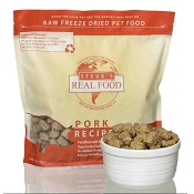 Steve's Real Food Pork Recipe Freeze-Dried Dog & Cat Food, 1.25 lb Bag